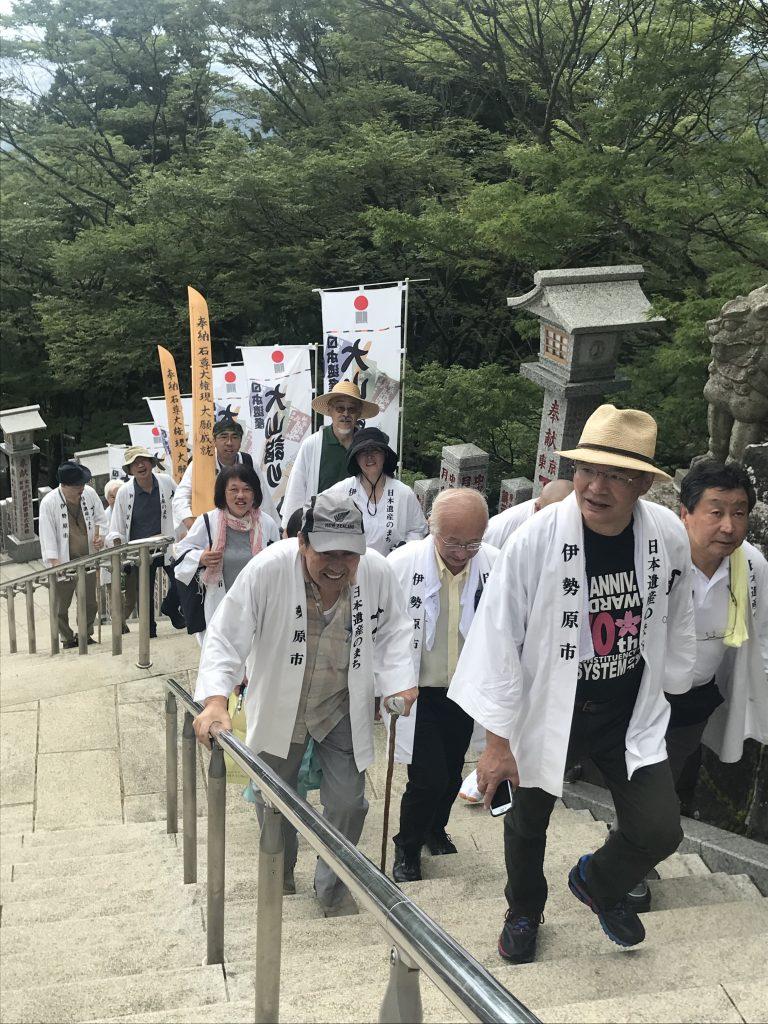 大山詣りお花講と共に大山阿夫利神社へ2