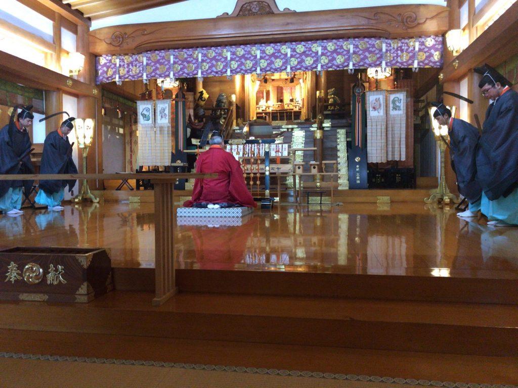 大山詣り参拝1
